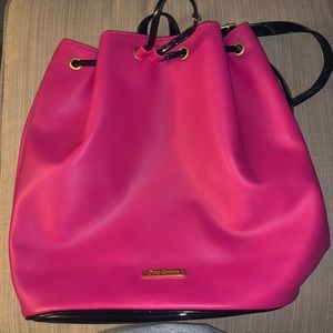 Juicy Couture Drawstring Pink Backpack